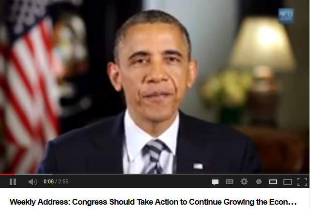 Weekly Address: Congress Should Take Action to Continue Growing the Economy