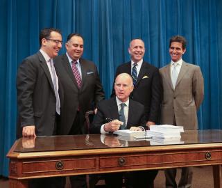 Governor Brown Signs $96.3 Billion 2013-14 Budget