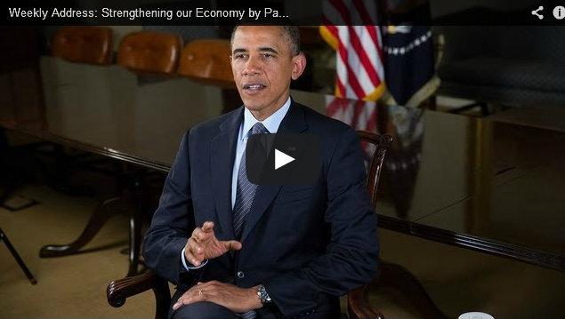 President Barack Obama Weekly Address On Immigration July 13, 2013