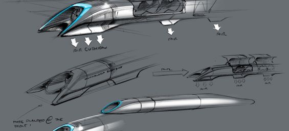 Travel from SF to LA in 30 Minutes?  Could Hyperloop Be The Answer? ~By John Hamilton