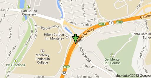 Traffic Update..Injury Accident in Monterey