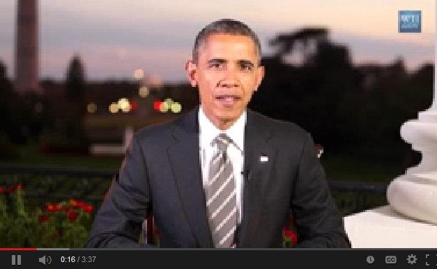 President Obama's Weekly Address, October 19, 2013