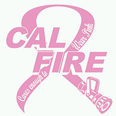 CAL FIRE Cares Enough to Wear Pink