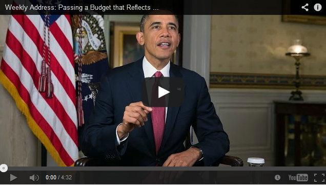President Obama's Weekly Address November 2, 2013