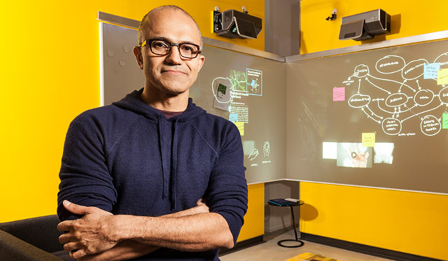 Microsoft Board Names Satya Nadella as CEO.  Gates Moves To Advisor Role.