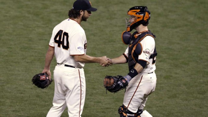 Legend Of The Fall: MadBum's CG Gives SF Game 5 Win ~ By Chris Haft / MLB.com