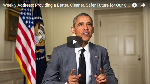 Presidential Weekly Address: Providing a Better, Cleaner, Safer Future for Our Children