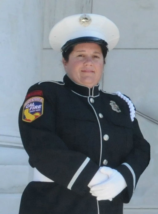 Memorial Service For Fire Captain Julie Freeman