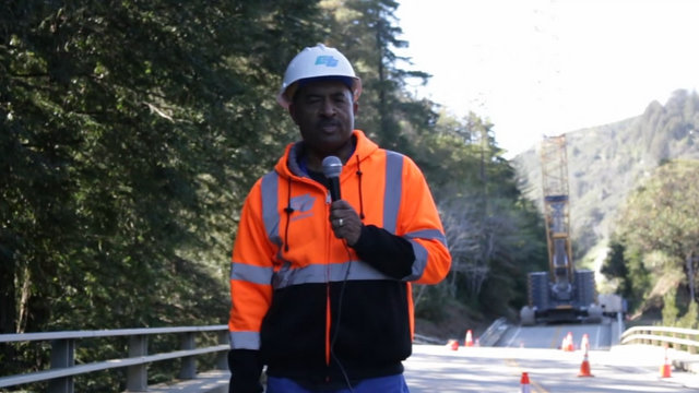 Caltrans Removes Damaged Pfeiffer Canyon Bridge, Plans To Quickly Re-Build