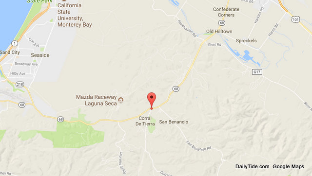 Fatal Collision on Hwy 68 near Corral De Tierra Road