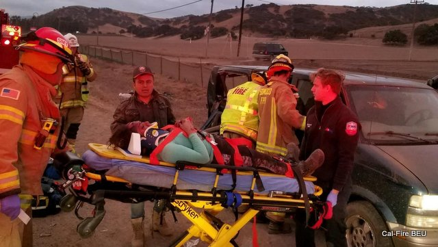Multi-Casualty Vehicle Accident near King City (Monterey County)