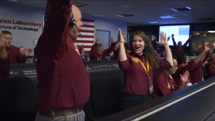NASA's InSight Spacecraft Has Touched Down on Mars