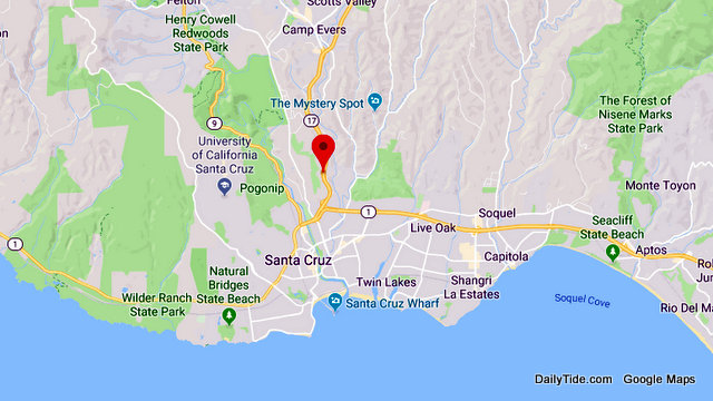 Traffic Update….Vehicle vs Deer with Air Bags Deployed Near Sr17 N / Pasatiempo