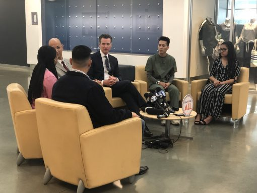 Governor Newsom Promotes Health Care Proposals For Young Adults Regardless of Immigration Status