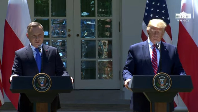 President Trump and President Duda of the Republic of Poland in Joint Press Conference