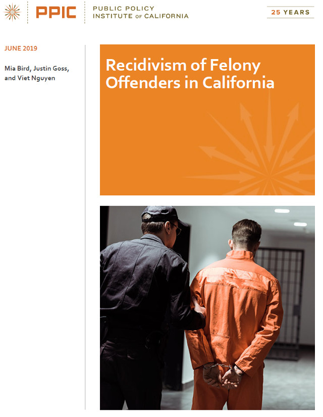 Public Policy Institute Releases Report on Recidivism of Felony Offenders in California