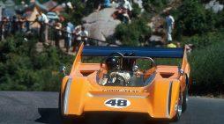 Mika Häkkinen to Drive the Historic 1970 McLaren M8D Can-Am 'Batmobile' at Rolex Monterey Motorsports Reunion