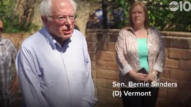 Sen. Bernie Sanders Visits Paradise, Announces $16.3 Trillion Climate Plan