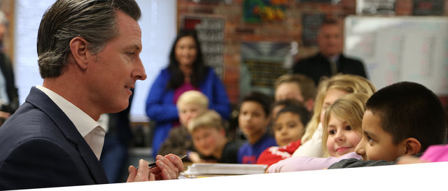 Governor Newsom Visits Paradise Area Students & Teachers as They Head Back to School