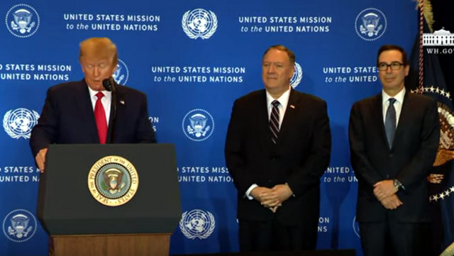 President Trump Press Conference After U.N. Sessions