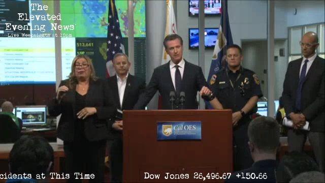 Governor Newsom on PG&E Public Safety Power Shutoffs