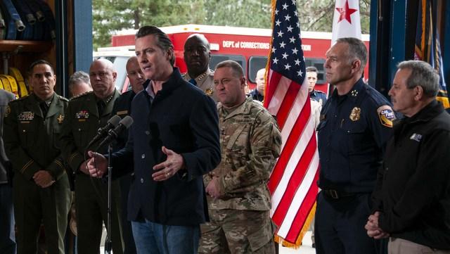 Governor Newsom On Major CPUC Investigation Into Utility Power Shutoffs
