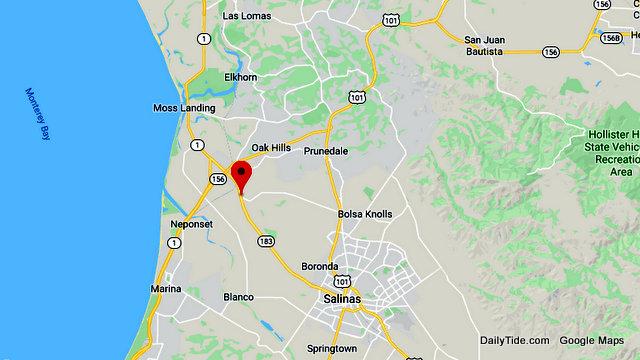Traffic Update…..Train vs Porta Potty Truck Near SR183 / Espinosa Rd