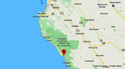 Traffic Update….Rocks in Roadway on Hwy 1 South of Big Sur