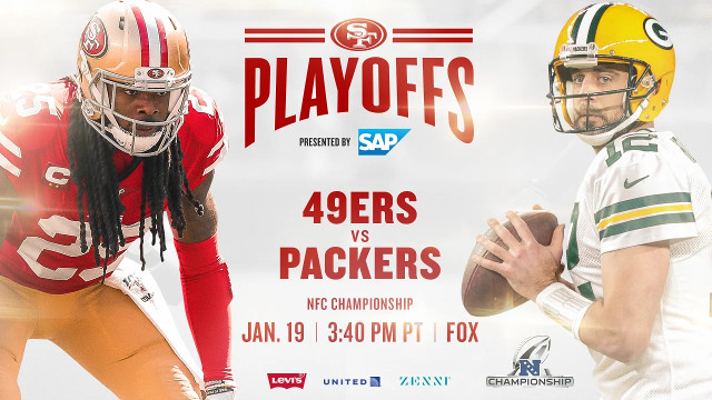 49ers to Host Packers in NFC Championship Game