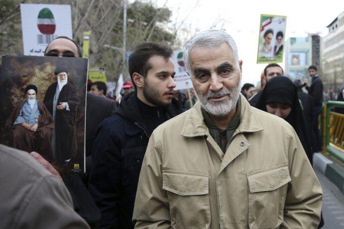 Iran's Gen. Soleimani Killed in Airstrike at Baghdad Airport (AP)