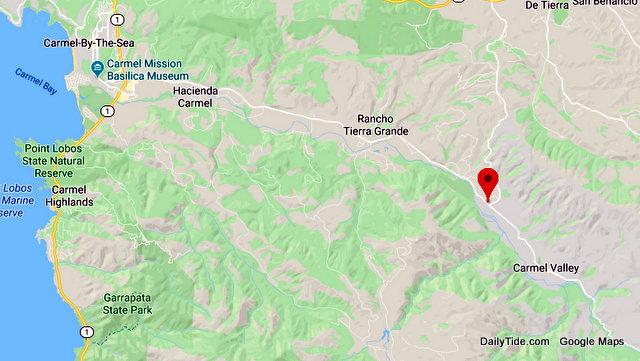 Traffic Update…..Overturned Vehicle Near Carmel Valley Road & Laureles Grade
