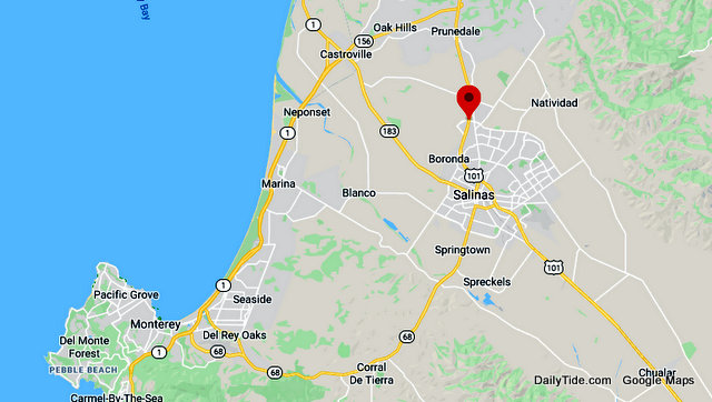 Traffic Update….Overturned Vehicle on Fire Near Hwy 101 & Boronda