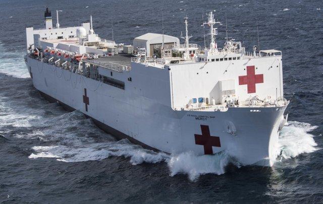 Governor Newsom Requests President Trump Deploy USNS Mercy Hospital Ship to Port of Los Angeles