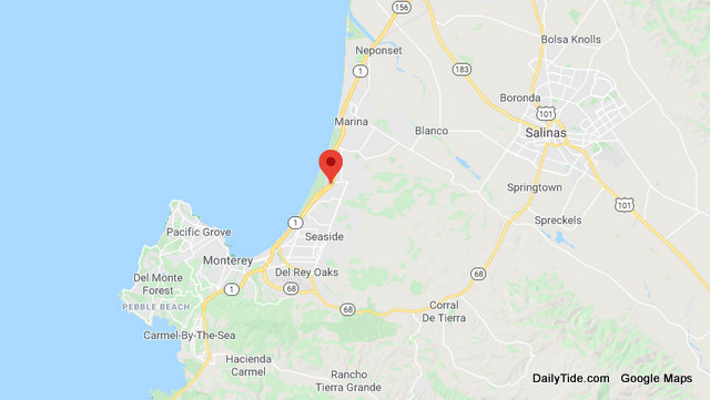 Traffic Update….Rollover Collision Hwy 1 in Marina Area.  Injured Party Still in Vehicle
